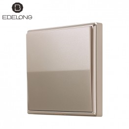 Ebelong Batteryless Kinetic Smart Switch Gold 1 Gang