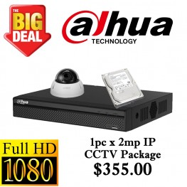 Dahua 2MP IP CCTV Package 1